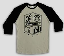 NEW INSANE CLOTHING ART YOU WEAR STREETWEAR BMX LIFE BASEBALL RAGLAN MEN'S TEE