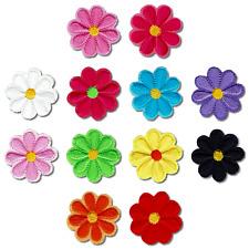 Patch Aufnäher Flicken Blumen als Set oder einzeln