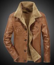 Men's plus velvet leather suit jacket Warm thick Blazers jackets Coat Outwear