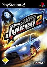 Juiced 2 - Hot Import Nights (Sony PlayStation 2, 2007, DVD-Box)