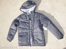 NEW* Billabong Winter Jacket Hoody Boys Black M 10 12 Parka $66 Retail