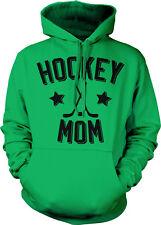 Hockey Mom Parent Mother Mommy Child Kid Sticks Puck Team Play Hoodie Sweatshirt