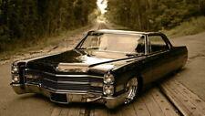 64508 Vintage Rerto Car Cadillac De Ville Lowride Wall Print Poster CA