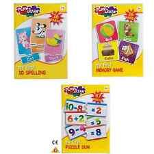 HTI Play & Apprendi Kids il mio primo 3D ortografia, gioco di memoria o Puzzle somma 3 + anni