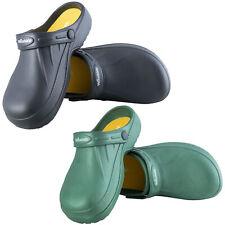 Woodside para Hombre/Mujer Slip On jardín Zueco Mula Zapatos de trabajo