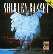 Legendary Performer by Shirley Bassey (CD, Feb-2004, Windsong)