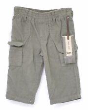 Pantalon Treillis velours kaki bébé IKKS X62203067 Taille 6 Mois