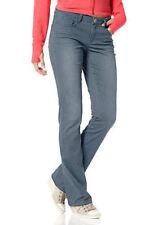 Flashlights Stretchhose Jeans Hose lang Punkte Muster Dots Denim 123082