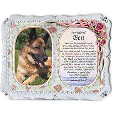 Dog Memorial Photo Plaque-In Loving Memory, Tribute, RIP, Plaque, Gift Frame