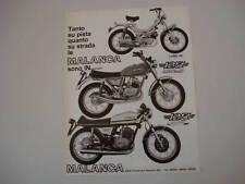 advertising Pubblicità 1976 MALANCA 125/LORD P4