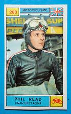 Figurina CAMPIONI DELLO SPORT 1969/70-n.260-READ (GBR)-MOTOCICLISMO-rec