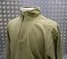 Authentique Armée Britannique pcs Thermal maillot de corps / POLAIRE VERT PALE