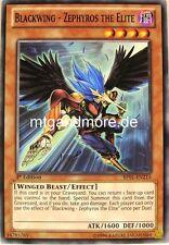 Yu-Gi-Oh 1x Blackwing - Zephyros the Elite - - - BP01 - Battle Pack Epic Dawn