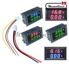Digital DC 0-100V 10A Dual LED Display Voltmeter Ammeter Voltage AMP Power