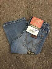 WRANGLER Retro Premium Boy's Relaxed Fit Boot Cut Light Denim Jeans JRT20ST NWT