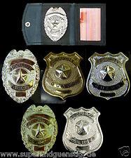 Security Ausweis Etui Dienstausweis Ausweistasche / Badge Abzeichen zur Auswahl