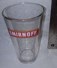 Smirnoff Vodka CT New Pint New Glass
