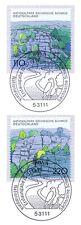 BRD 1998: Block marcas nº 1997+1998! de sajona-suiza-bloque nr 44! 1a 1510