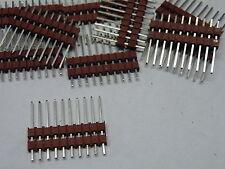 "10 W Way PCB Plug 0.1"" 2.54mm Pitch Terminal Pin Male Header Molex EA04"