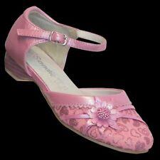 Klacker Schuhe Sandale Taufe Brautschuhe Kinder Schuhe Mädchen Glitzer 413 Pink