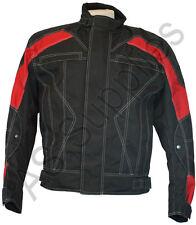 SCOTT-258 New Cordura Textile Biker Motorcycle Jacket - All sizes!