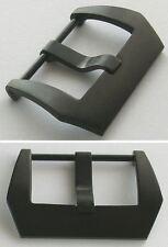 Pre-V-STYLE in acciaio inox breitdornschliesse NUOVO avvitato PVD nero rivestito