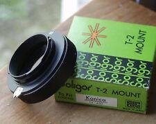 Konica F Mount Adattatore T2 Soligor