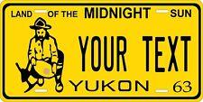 Yukon Canada 1963 License Plate Personalized Custom Car Bike Motorcycle Moped