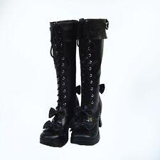 gothic gotik lolita stiefel boots Shoes Schuhe black butler goth cosplay CIEL