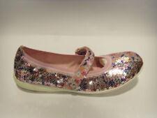 Geox j5126c rosa ballerina bambina paiette strappo