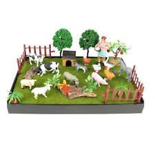 Lifelike Animal Figures Toy Micro Scenery Board Decoration Baby Playset