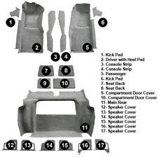 1980 Corvette C3 Complete Carpet Set (17 Piece Cutpile w/pad)