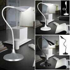 Luxus LED Tisch Lampen Schlaf Gäste Zimmer Flexo Steh Stand Leuchten schwenkbar
