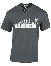 WALKING DEAD ZOMBIES MENS T SHIRT EVOLUTION APOCALYPSE NEGAN COMIC TV FEAR CARL