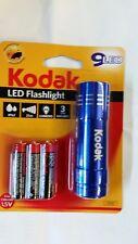 KODAK  TORCH FLASHLIGHT 9 LED  INCLUDES 3 X AAA  HEAVY DUTY BATTERIES WATERPROOF
