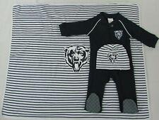 Chicago Bears NFL Baby's 3 Piece Blanket Set