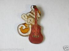 Vintage Country & Western Guitar Enamel Pin