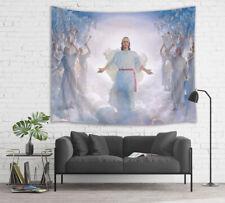 Jesus & Playing Music Angel Tapestry Wall Hanging For Bedroom Livingroom Dorm LB