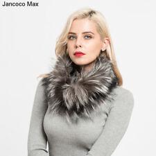 AS/ FR81270 Max reel fourrure de renard Foulards chaud epais Chale femmes