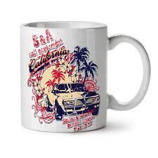 Vintage Car Palm Holiday NEW White Tea Coffee Mug 11 oz | Wellcoda