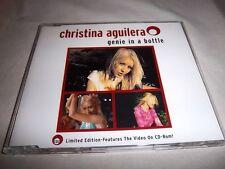 CHRISTINA AGUILERA-GENIE IN A BOTTLE 2 TRCKS + VIDEO-RCA 74321705492 EU MINT CD