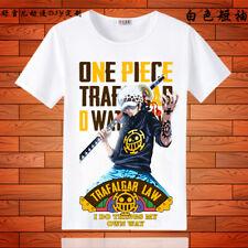 One Piece Trafalgar Law Cosplay Anime Manga T-Shirt shirt Kostüme underwear