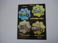 advertising Pubblicità 1971 CHIORDA PIRATA/BIMBO/CROSS