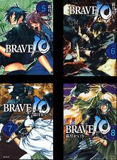 BRAVE 10 KAIRI KIRITSUKI JAPANESE ANIME MANGA BOOK SET VOL.5-8