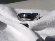 Titanium Ring, Wedding Band, Polished Finish 6mm Made your Size
