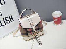Travel Women PU Leather Backpack Satchel Shoulder Rucksack Handbag School Bag