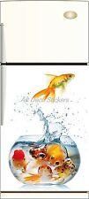 Sticker frigo déco cuisine Aquarium 60x90cm Réf 218