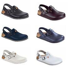 Birkenstock Tokio Tokyo Leather Work Shoes Clogs Super Grip unisex ESD Sandals