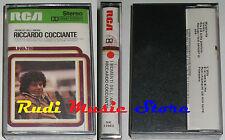 MC RICCARDO COCCIANTE i momenti dell'amore SIGILLATA ITALY RCA no cd lp dvd vhs