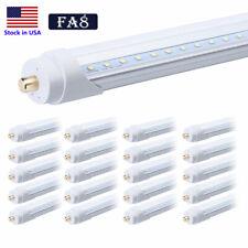 Single Pin 8FT 45W LED 5000K 8 Foot Fluorescent Bulbs Daylight White Tube Light